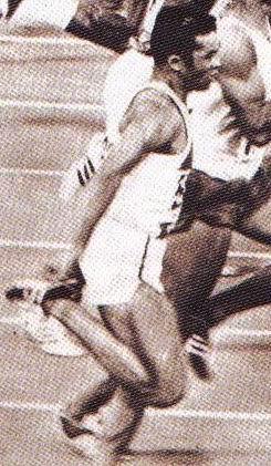 La finale 100m des J.O. de Mexico-City en 1968