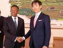 Ishiro Ogasawara, ambassadeur du Japon à Madagascar