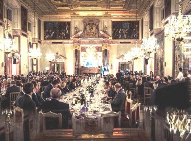 Le dîner d'État de la Conférence (18 février 2017, 23h